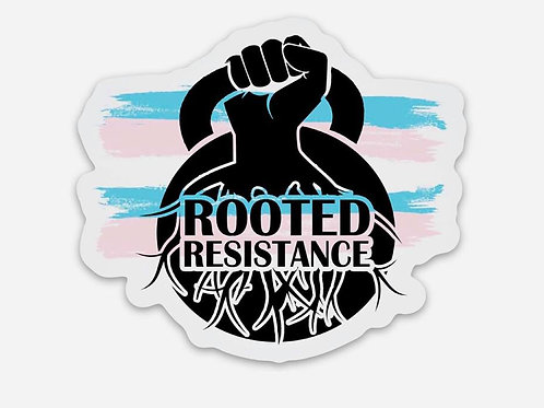 #WeWontBeErased Rooted Resistance Sticker
