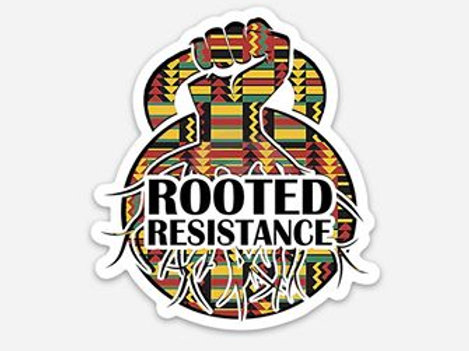 Asè Rooted Resistance stickers
