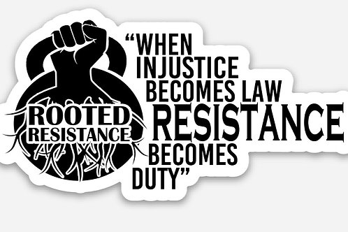 Resistance Becomes Duty Stickers