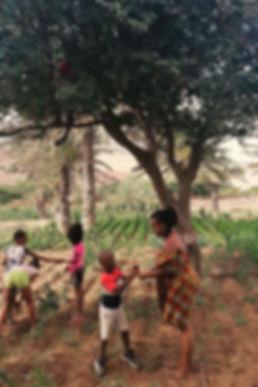 AquaFarmer and youth on East African farm