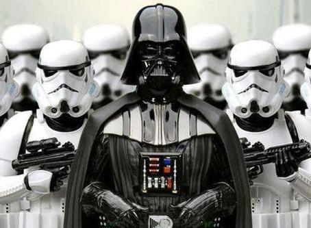 E quando um vilão de Darth Vader está por perto?