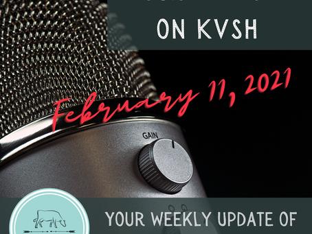 SCA Radio Spot on Feb. 11, 2021