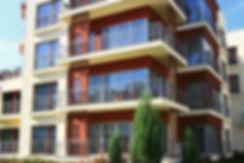 Modern Apartment Block