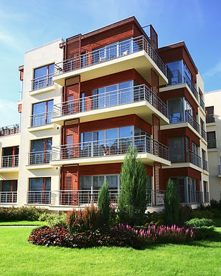 Bloco de apartamentos moderno