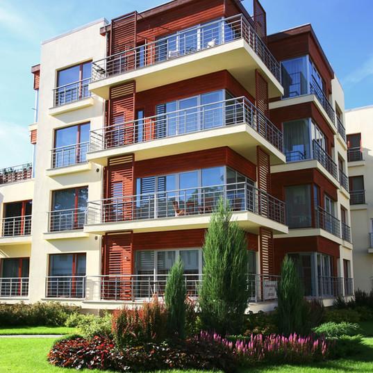 Moderním bytovém domě