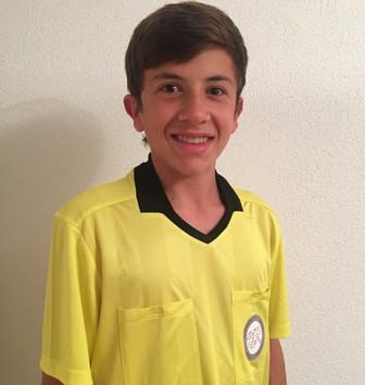 David Janggen, ein neuer Schiri beim FC Bolligen.