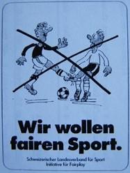 Wir wollen fairen Sport