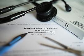 Traduction dossier médical