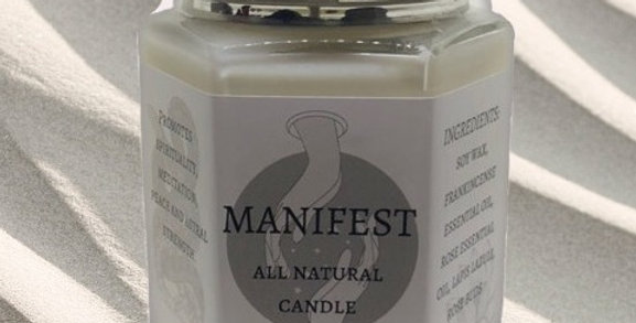 Manifest Aromatherapy Candle