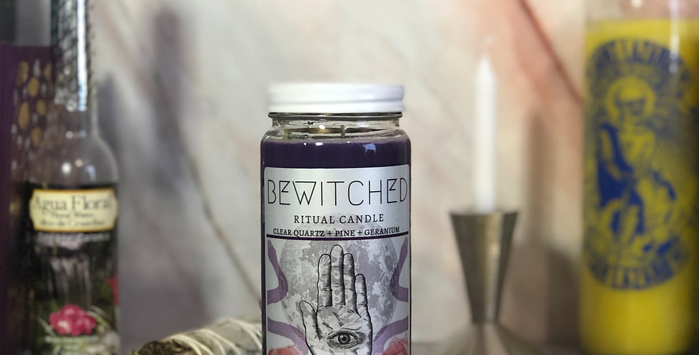 Bewitched Ritual Candle