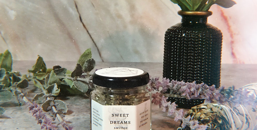 Sweet Dreams Herbal Smudge