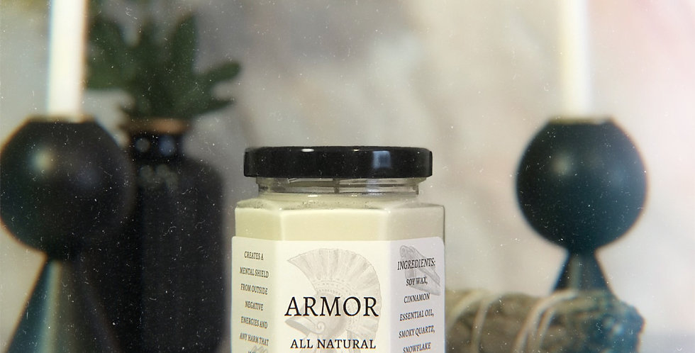 Armor Aromatherapy Candle