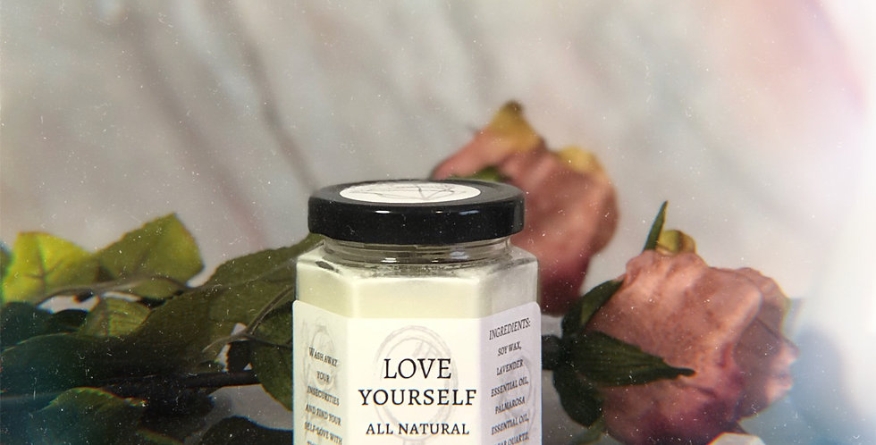 Love Yourself Aromatherapy Candle