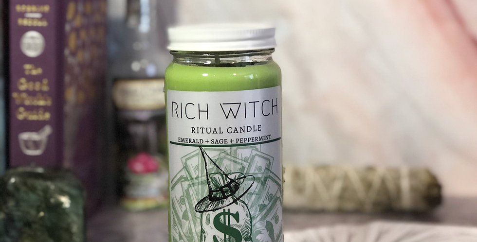 Rich Witch Ritual Candle