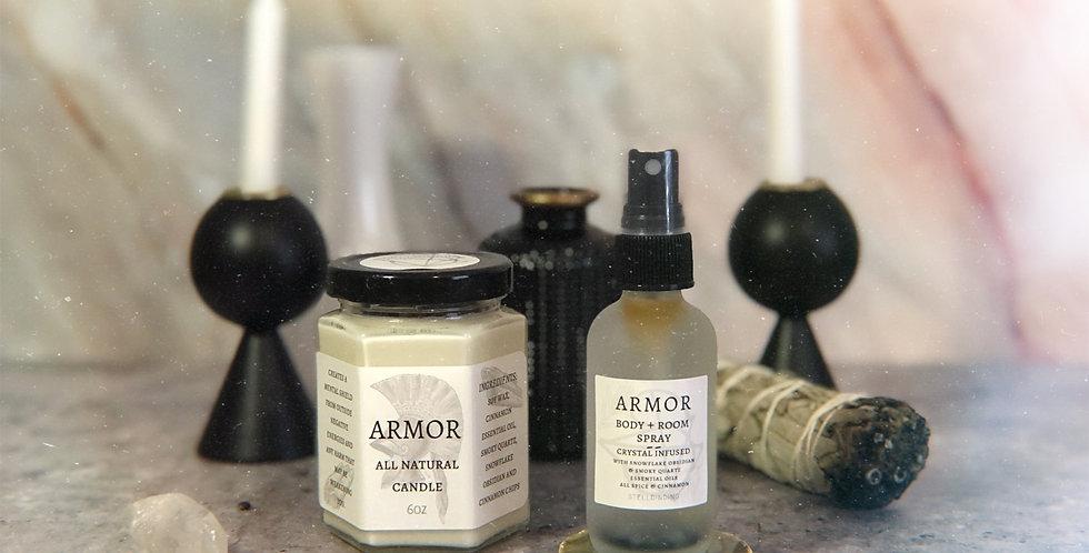 Armor Candle + Spray Set