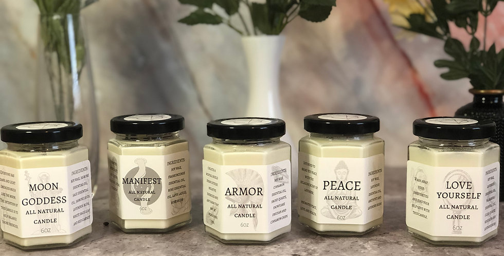 All Natural Candles Bundle