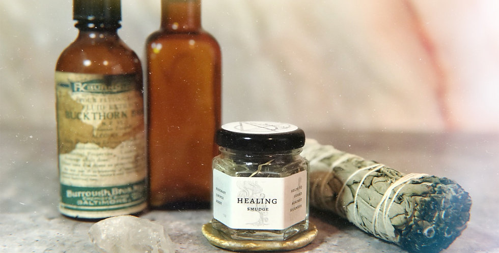 Healing Herbal Smudge