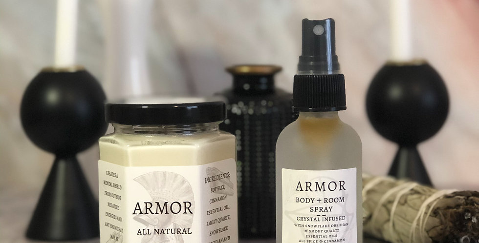 Armor Candle + Spray Set