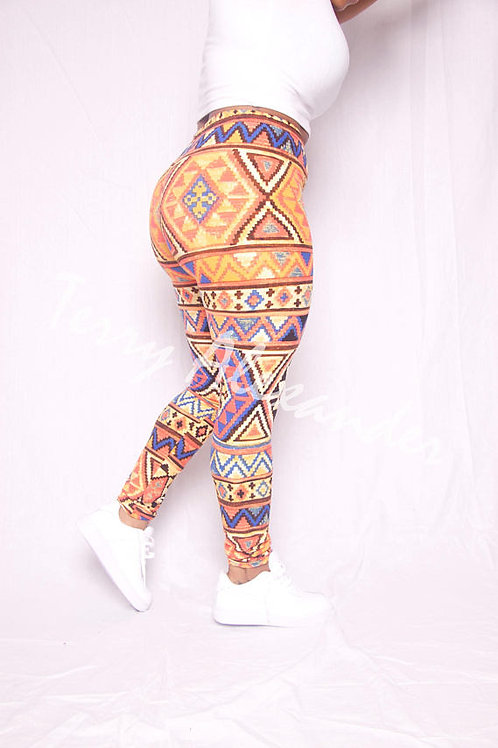 YOGA LEGGINGS TRIBAL highwaisted BlackMilk Alternative