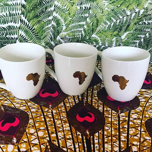 Sipping Tea or Coffee in Style: The Africa Mug