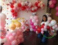 decoración con globos en Bogotá