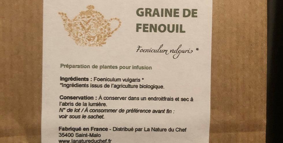 GRAINE DE FENOUILLE BIO