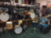 Snares Starting at $50.00  Drum Sets Sta