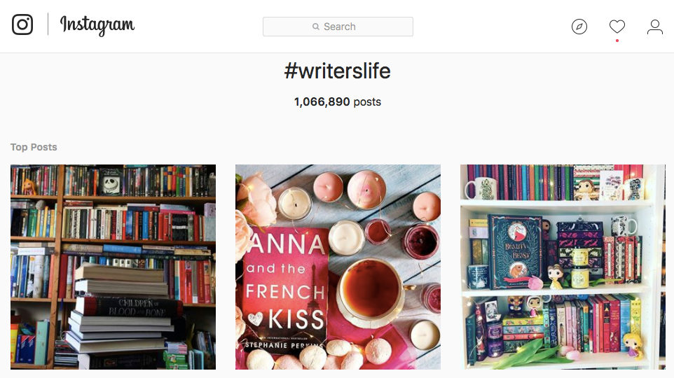 NowSheWrites, writers blog, #Writerslife, Instagram followers, community, Social Media management