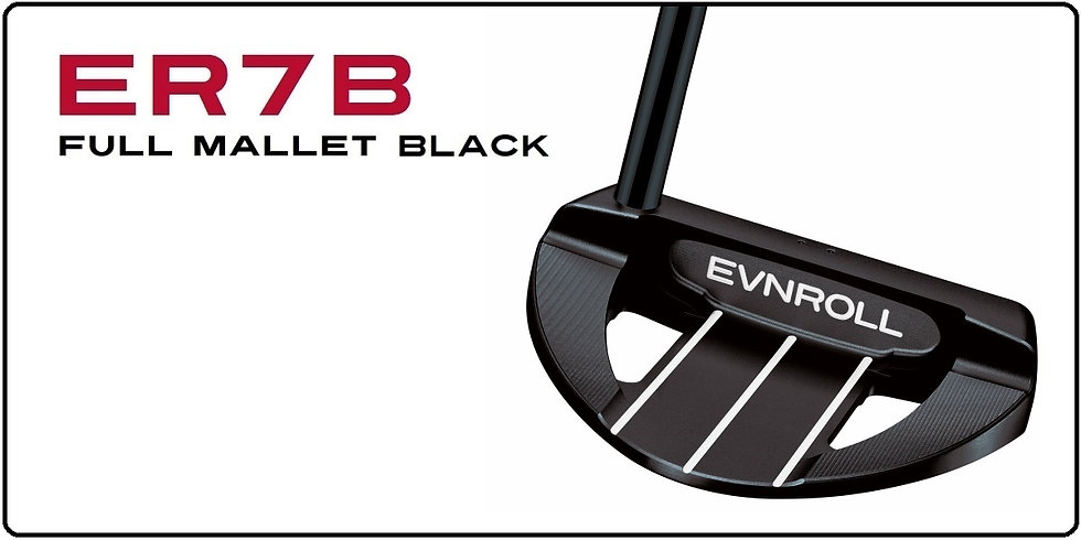 ER7B Full Mallet Black - NEU!