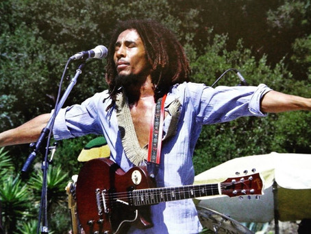 Bob Marley's broken guitar auctioned for 22 Million