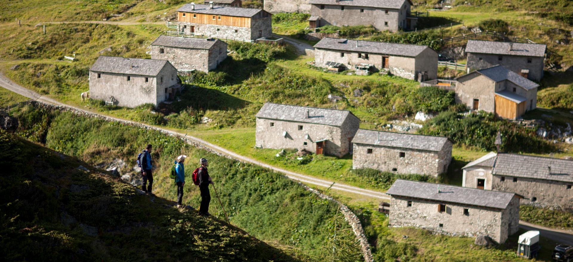 Klein Tibet der Alpen, Jagdhausalmen