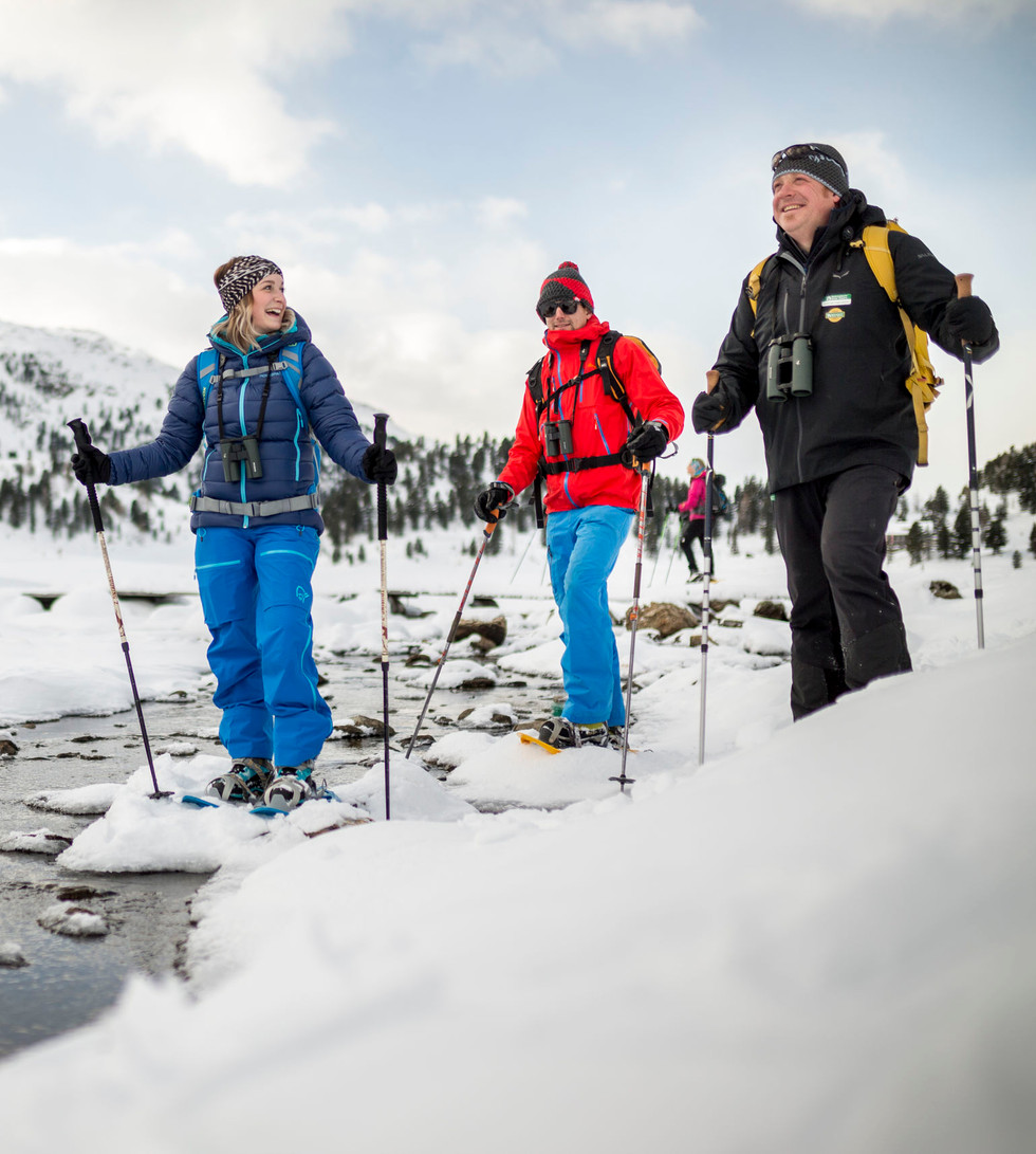 Schneeschuhwanderung im Defereggental