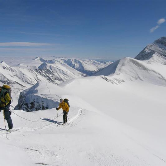 Skitour zum Romariswandkopf