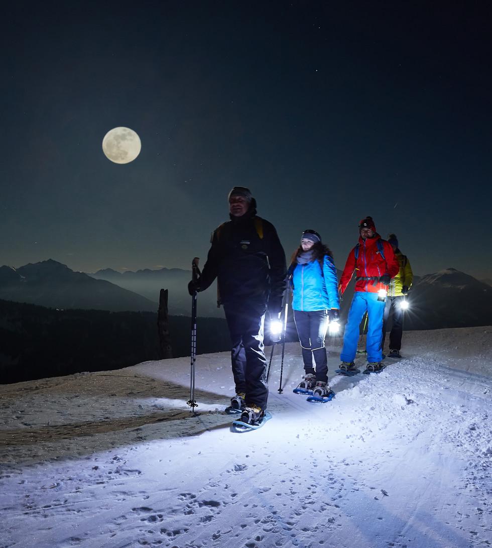 Schneeschuhwanderung mit Nationalpark Ranger bei Vollmond