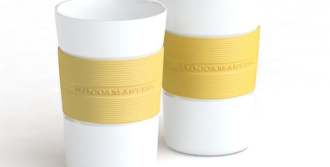 Moccamaster mug set of 2 - Pastel Yellow