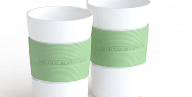 Juego de 2 tazas Moccamaster - Verde Pastel