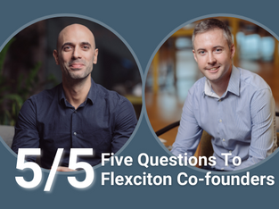 Flexciton co-founders reflect on their five years journey