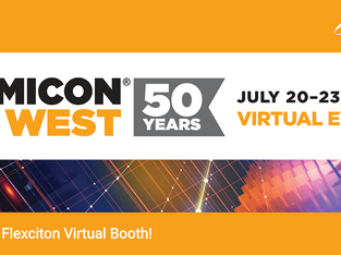 Flexciton goes virtual...at Semicon West 2020