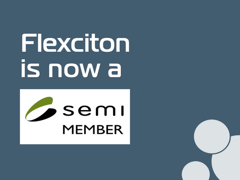 Flexciton becomes a SEMI.org member