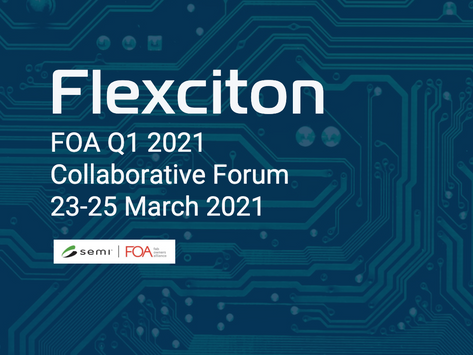 Flexciton and Seagate Technology joint presentation at the FOA Collaborative Forum.