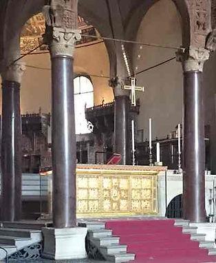 Altar de Vuolvinio, un Tesoro de Milán