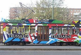Tranvía Trussardi - guia turistica milan