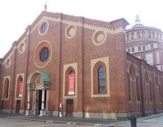 Iglesia de Snta María de las Gracias -guia turistica milan- visitas guiadas