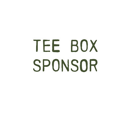 TEE BOX SPONSOR