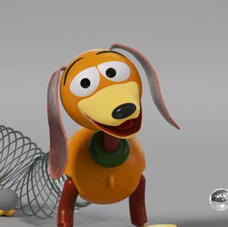 Slinky Closeup