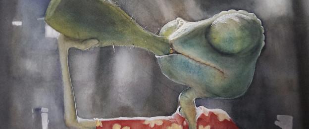 Rango watercolor fan art
