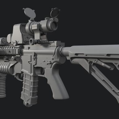 MK-18 model