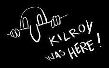 """Biga, """"KIlroy was here"""""""
