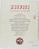 """Revue """"L""""Infini"""", n°1"""