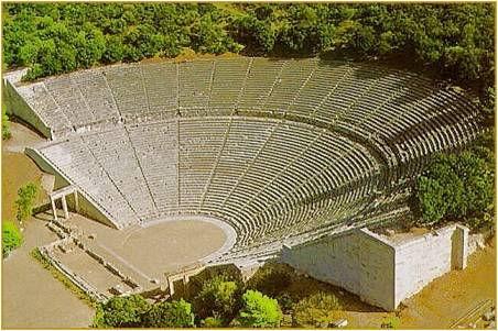 Le théâtre antique: Epidaure.